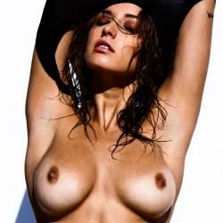 Alyssa Arce topless by James Banasiak HQ photo