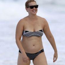 Amy Schumer sexy bikini candids on the beach in Hawaii 7x HQ photos