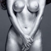Kim Kardashian nude W Magazine photo shoot 2x UHQ