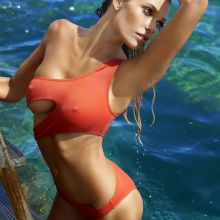 Samantha Hoopes nude naked topless bodypaint see through Sports Illustrated sexy Swimsuit 2016 photo shoot 33x HQ