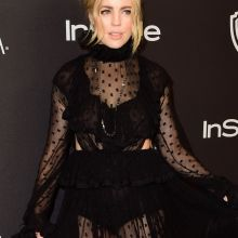 Melissa George braless in see through dress on InStyle And Warner Bros Golden Globe Awards Post-Party 7x UHQ photos