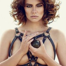 Lauren Cohan topless 2015 Imagista magazine 2x HQ
