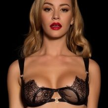 Bryana Holly hot see through for Honey Birdette lingerie 17x HQ photos
