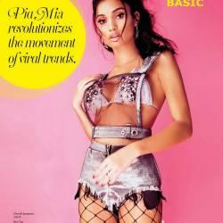Pia Mia sexy for BASIC Magazine