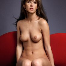 Sophie Marceau Nude Vogue magazine cover topless photo shoot UHQ