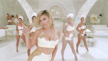 Fergie - M.I.L.F. $ - Kim Kardashian, Chrissy Teigen, Ciara, Alessanda Ambrosio, Gemma Ward, Tara Lynn, Devon Aoki, Angela Lindvall, Isabeli Fontana, Amber Valletta, and Natasha Poly lingerie cleavage topless