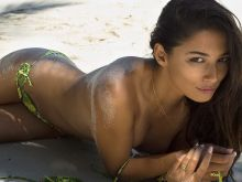 Jessica Gomes 2014 Sports Illustrated Swimsuit photo shoot 25x HQ
