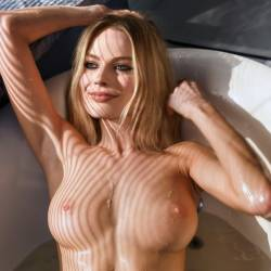 Margot Robbie naked in tub leaked photo UHQ