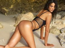 Sofia Resing nude naked topless bodypaint see through Sports Illustrated sexy Swimsuit 2016 photo shoot 37x HQ