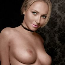 Hayden Panettiere nude bondage photo shoot UHQ