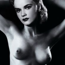 Anne Francis young and nude photo shoot UHQ