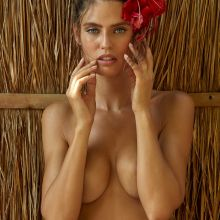 Bianca Balti - Sports Illustrated Swimsuit 2017 topless bare ass see through tiny bikini 33x HQ photos