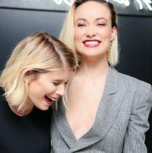 Olivia Wilde braless nip slip cleavage on Tiffany HardWear collection celebration 8x HQ photos