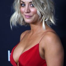 Kaley Cuoco cleavage InStyle And Warner Bros Golden Globe Awards Post-Party 8x HQ photos