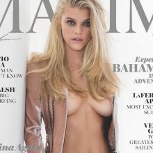 Nina Agdal topless bare ass for Maxim magazine March 2017 5x HQ photos