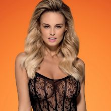 Rhian Sugden see through Obsessive lingerie 2015 December 16x HQ