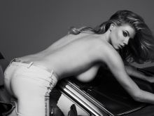Charlotte McKinney topless bare ass photo shoot for Maxim magazine 14x HQ photos