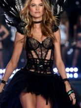 Behati Prinsloo sexy 2014 Victoria's Secret Fashion Show in London 18x UHQ