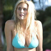 Ashley James, Olivia Cox show off stunning bikini figures in Marbella 46x HQ photos