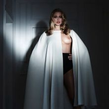 Estella Warren nude topless see through for Treats! magazine 8x HQ outtakes