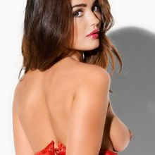 India Reynolds topless Pabo Lingerie 2015 photo shoot 84x HQ