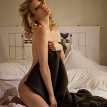 Ashley Hinshaw topless photo shoot for Galore magazine 9x HQ