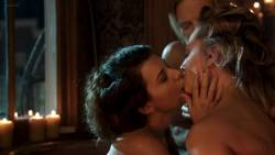 Elizabeth Lavender, Elysia Rotaru - Dead Again in Tombstone 1080p topless nude naked lesbian threesome group sex scenes