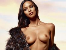 Lais Ribeiro nude Lui magazine 2014 July August 5x HQ