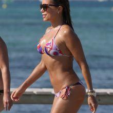 Sylvie Meis cameltoe in sexy bikini candids on the beach in St Tropez 49x UHQ photos