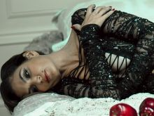Cindy Crawford see through bodysuit TSUM photoshoot outtakes 17x UHQ