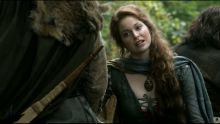 Game of Thrones S01 E06 Esme Bianco nude bush scene