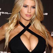 Charlotte McKinney big boobs huge cleavage Encore Player's Club Grand Opening in Las Vegas 87x UHQ photos