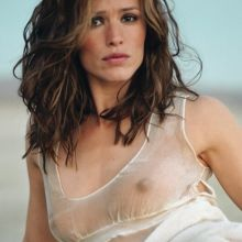 Jennifer Garner see through dress GQ magazine photo shoot UHQ
