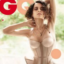 Kangana Ranaut Hot in Lingerie For GQ India 2014 May 8x HQ