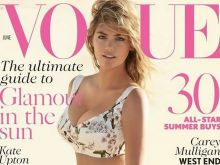 Kate Upton hot Vogue UK 2014 June photo 2x MQ