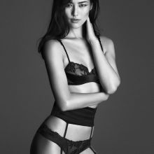Liu Wen sexy La Perla 2015 Fall Winter 13x UHQ