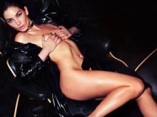 Lily Aldridge topless nude for Lui magazine 2016 March 12x MixQ photos