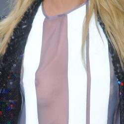 Candice Swanepoel see through Sao Paulo Fashion Week FW 2014 Runway Candids 17x UHQ