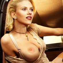 Scarlett Johansson from The Black Dahlia topless photo shoot UHQ