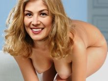 Rosamund Pike from Gone Girl nude photo shoot UHQ