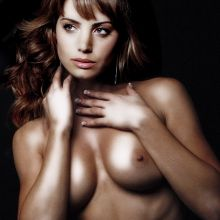 Erica Durance topless portrait HQ