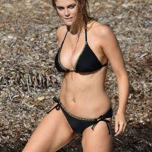 Ashley James wearing sexy bikini on the beach in Bali 48x HQ