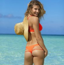 Eugenie Bouchard - Sports Illustrated Swimsuit 2017 topless tiny bikini 21x HQ photos