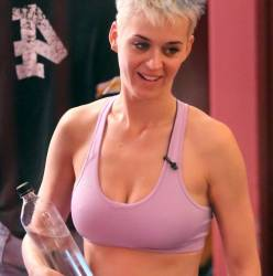 Katy Perry pokies in sport bra woorkout with fitness guru Tracy Anderson in Los Angeles 101x HQ photos