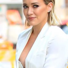 Hilary Duff nip slip arriving at Today Show in New York 40x HQ