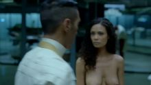 Thandie Newton - Westworld S01 E06 720p topless nude scenes