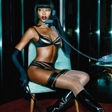 Naomi Campbell sexy Agent Provocateur Lingerie 2015 Spring Summer Campaign 6x UHQ