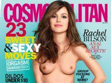 Rachel Bilson topless Cosmopolitan magazine cover UHQ