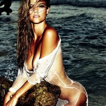 Nina Agdal nude Gosee Magazine photo shoot by Antoine Verglas 15x HQ