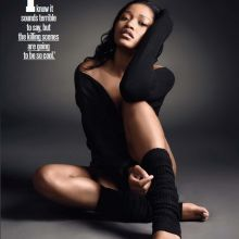 Keke Palmer sexy Maxim magazine 2015 October issue 3x MixQ